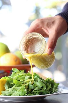 Lemony, nutty and cheesy. This apple cider vinegar dressing is nutrient dense and takes only a few minutes to make.