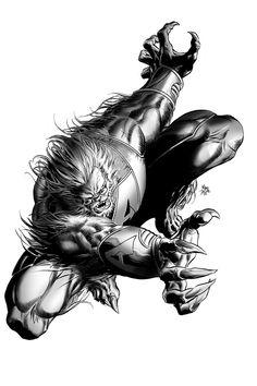 Secret Avengers: Beast by Mike Deodato Jr.