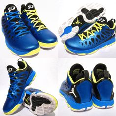 best sneakers a6386 853c3 Jordan CP3.VI – Photo Blue – White – Black – Electric Yellow