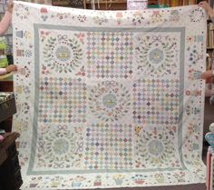 Rowdy Flat Library quilt top by Kris Flockhart