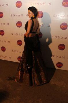 Sara looking stunning in a Sonam M lehenga
