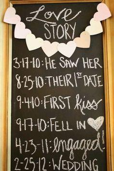 Cute and cheap idea for wedding