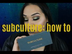Today I'm showing you guys how I use the Subculture palette with what brushes and how I use them! Enjoy xx LETS C. Abh Subculture Palette, Anastasia Beverly Hills Subculture, Eyes, Makeup, Youtube, Beauty, Make Up, Beauty Makeup, Beauty Illustration