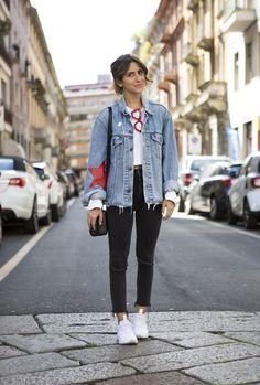 Alice De Togni Streetstyle in Milan | NssMagazine