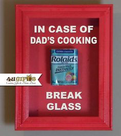 22 best in case of emergency break glass images on pinterest in case of dads cooking in case of emergency break glass gift for dad maxwellsz