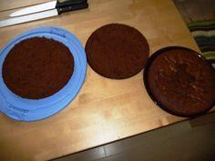 Das perfekte Tortenbausatz - Schokoladentortenboden-Rezept mit einfacher Schritt-für-Schritt-Anleitung: Bei einer Springform Ø 26 cm den Boden mit…