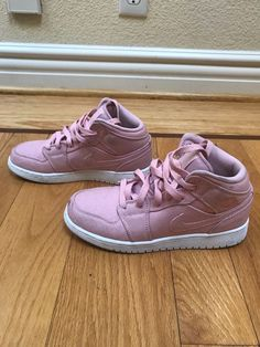 78ad0a6f3eee90 girls pink nike air jordans size youth 4  fashion  clothing  shoes   accessories  kidsclothingshoesaccs  girlsshoes (ebay link)