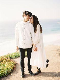 California Engagement Photography. Seaside engagement #wedding