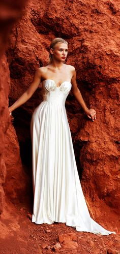Amanda Wakeley Morocco Lookbook Wedding Dress http://bridal.amandawakeley.com/morocco.html