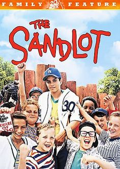 The Sandlot [PN1997 .S26 2001] Scotty Smalls moves to a new neighborhood with his mom and stepdad, and wants to learn to play baseball. The neighborhood baseball guru Rodriquez takes Smalls under his wing, Director:David M. Evans   Writers:David M. Evans, Robert Gunter   Stars:Tom Guiry, Mike Vitar, Patrick Renna