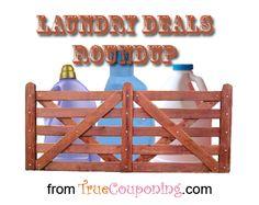 Laundry Deals Roundup Week of 8/31 - 9/6 - TrueCouponing
