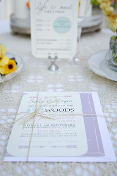 Hochzeitseinladung: www.papierhimmel.com Fotos: http://www.mariebleyer.com