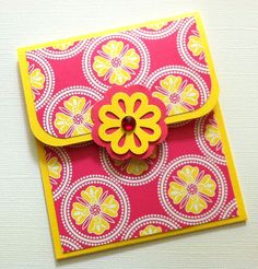 Gift Card Holder- useful and pretty!