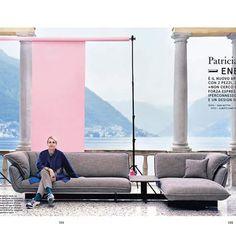 first sofa for Cassina by Patricia Urquiola