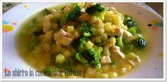 Minestra di pollo e broccoli - Ricette dalla cucina di uno sbirro