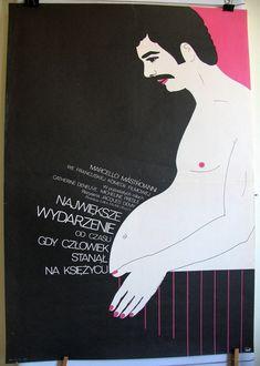 French 1973s film L'événement le plus important by artwardrobe, $99.99