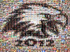 zumyn | Personalised photo mosaics > slideshow