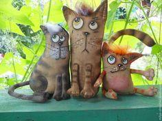 Кото-трио - кот,коты,трио,шкода,улыбка,котейка в подарок,подарок любителю кошек