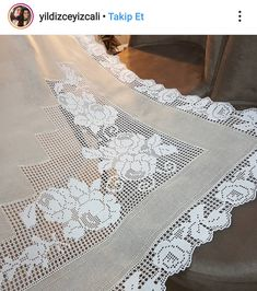 Crochet Doily Patterns, Crochet Doilies, Crochet Lace, Filet Crochet, Embroidery, Rose, Dresses, Fashion, Tablecloths