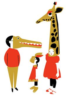 All sizes | 3 characters for a picture book | Flickr - Photo Sharing!