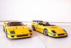 F40 Barchetta LM and F40 1989