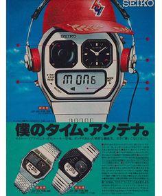 いいね!332件、コメント8件 ― 🌴🍉80's Epicness🌴🍉さん(@neontalk)のInstagramアカウント: 「Love this ad! ♥️🇯🇵 … #80sad #80sdesign #80sproduct #watchdesign #80swatch #retrowatch #vintageseiko…」