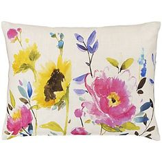 John Lewis Floral Cushion