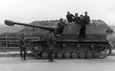 Dicker Max on the front. Belarus, summer 1941.