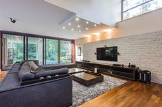 Salas de estar modernas por Michał Młynarczyk Fotograf Wnętrz