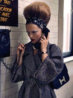 Dial up desire. #ZapposCouture