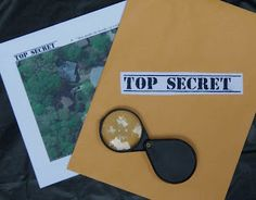 Activity - Crack of Dawn Crafts: Spy Party Game 3: Satellite Photo Investigation