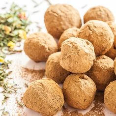Green Earl Grey Chocolate Truffles