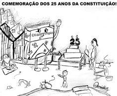 Festa de Comemoração dos 25 anos da Constituição...