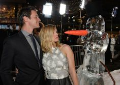 Kristen Bell and Jonathan Groff at event of Frozen