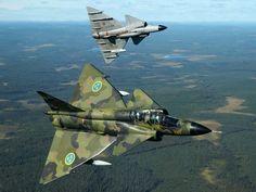 Aircraft military viggen swedish air force fighter jet wallpaper | 1920x1440 | 17845 | WallpaperUP