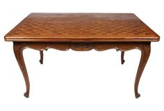 Louis XV-Style Parquetry    Dining Table