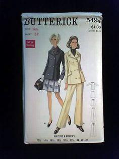 Pant Suit 1960's