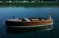 Classic ChrisCraft in the Les Cheneaux Islands Chris Craft Boats, Runabout Boat, Classic Wooden Boats, Wood Boats, Boat Stuff, Speed Boats, Water Crafts, Michigan, Nautical