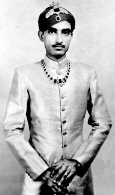 HH Maharawal Shri MAHIPAL SINGH II Bahadur, 34th Maharawal of Dungarpur, born 1931.