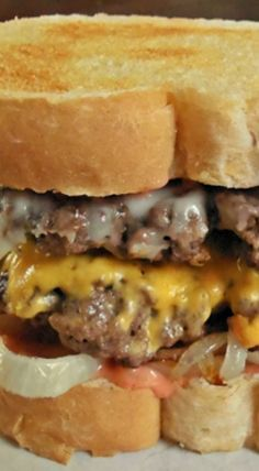 Steak 'n Shake Frisco Melts Copycat Recipe