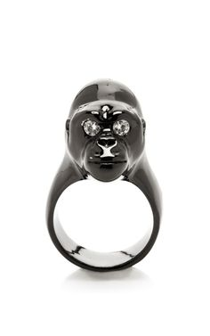 Shop Small Gorilla Ring by Jennifer Fisher for Preorder on Moda Operandi