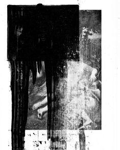 #art #kunst #collage #appropriation #arthistory #correggio #abstract #contemporaryart #conceptualart #blackwhite #reproduction #distortion #paint #painting #renaissance #fineart