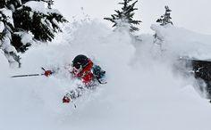 Jeff Boyce skiing Photo by Pat Hui, via Flickr