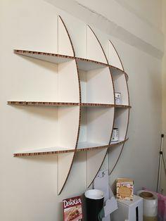 Cardboard Box Storage, Cardboard Chair, Diy Cardboard Furniture, Eco Furniture, Cardboard Paper, Craft Room Storage, Cardboard Crafts, Diy Storage, Diy Wall Decor