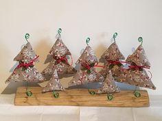 Fabric Christmas tree decoration
