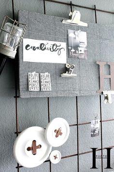 Creatief prikbord #creative #diy #interior