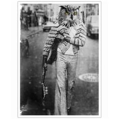 Owl Man as Art Print by John Keddie   Art. Everywhere.
