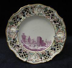 Dessert plate, ca. 1758 /  Fürstenberg Porcelain Manufactory