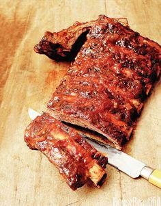Spice Roasted Rack of Ribs. housebeautiful.com. #ribs #ribs_recipe #roast #fall_recipes