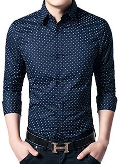 APTRO Men's Cotton Blend Business Long Sleeve Slim Casual Dress Shirt #20 Dark Blue US XS(Tag L) APTRO http://www.amazon.com/dp/B0195ZSW8W/ref=cm_sw_r_pi_dp_R5JAwb1X20V9J